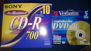 cd-r dvd+r sony verbatim