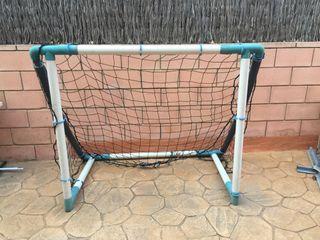 Porteria de futbol antigolpes