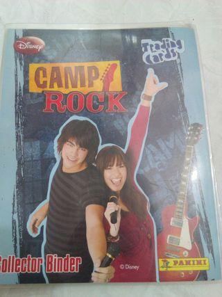 álbum de cromos camp rock