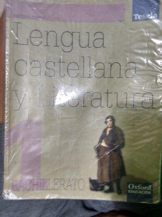 Libro de Lengua Oxford bachillerato