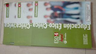 Libro Etica 4 ESO.