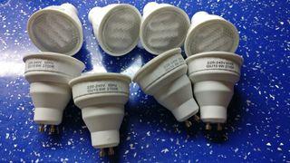 bombillas de bajo consumo gu10