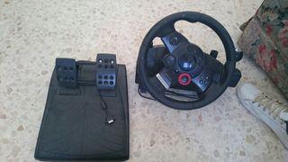 volante y pedales videojuegos