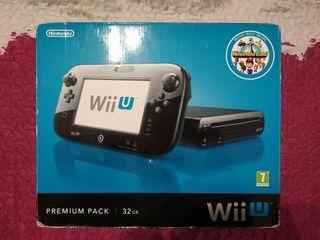 Wii U Premium 32GB + Zelda BOTW + Mario Kart 8