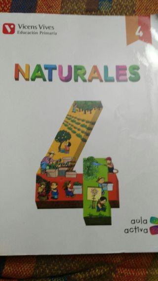 libro cuarto primaria naturales
