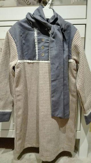 vestido Laura Montaño con etiqueta talla 8