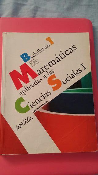 Matemáticas 1°Bach de ccss