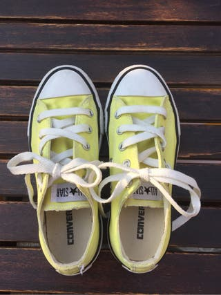 Zapatillas converse niño T 31