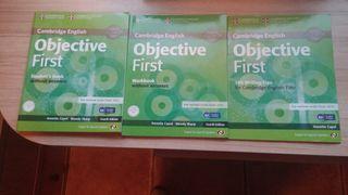 libros oficiales cambridge para el first