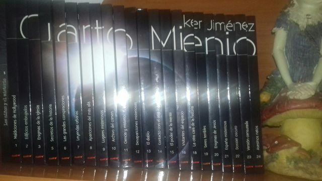 Coleccion de libros cuarto milenio con cds. de segunda mano ...