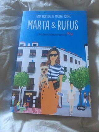 Libro Marta & Rufus