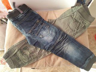 Lote pantalones t.3-4