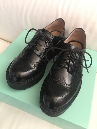 """Zapatos """"Blucher"""" T.37"""