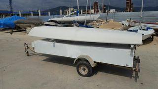 Barco Vela Ligera Laser