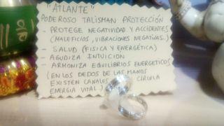anillo atlante plata de ley