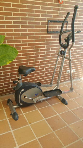Bicicleta elíptica 2 en 1 MAGNET POWER