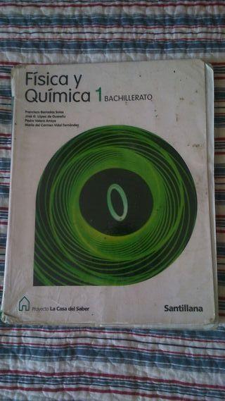 Libro Física y Química 1 bachillerato
