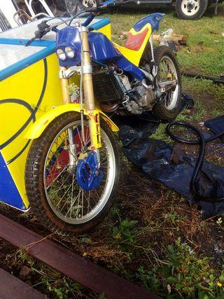 moto de trial aprilia klimber de 280cc sin papeles