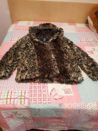 chaqueta pelo leopardo