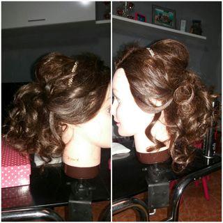 peinado y maquillaje eventos