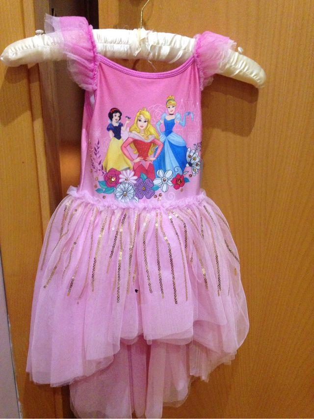 Vestido Princesa Disney De Segunda Mano Por 25 En