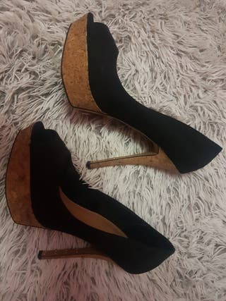 Zapatos tacón bershka