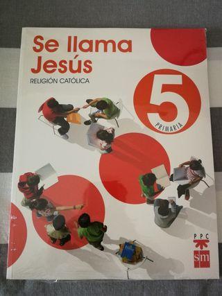 Libro Religión 5 primaria editorial SM