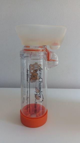 Camara de inhalación pediatrica Aerochamber