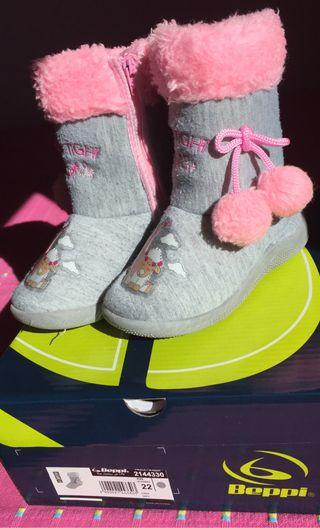 Zapatillas BEPPI estilo bota, chulísimas!!!