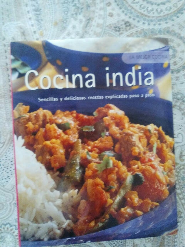 Cocina India Recetas | Libro De Recetas De Cocina India De Segunda Mano Por 5 En