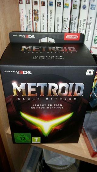Metroid: Samus Returns Edición Legacy (PRECINTADA)