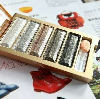 Five Colors Shining Natural Eye Shadow Palette