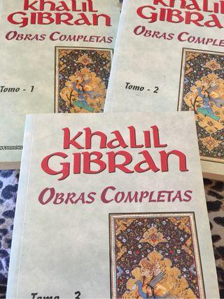 Coleccion libros khalil gibran