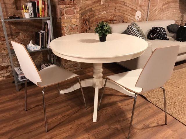 Mesa Comedor IKEA INGATORP de segunda mano por 130 € en Barcelona ...