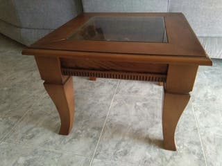 Muebles sal n comedor completo de segunda mano por for Wallapop madrid muebles