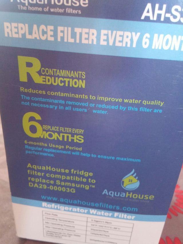 Filtro de agua para frigorifico americano