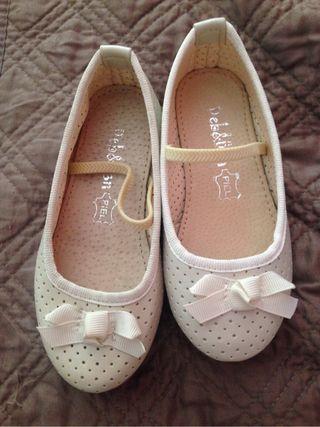 Zapatos n25 de piel - nuevos