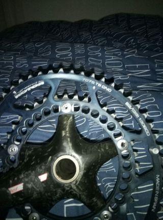 platos rotor y bielas fsa carbono