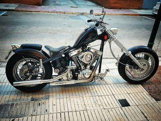 Chopper rígido Harley Davidson