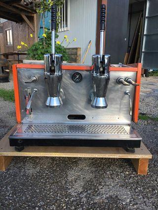 espresso maquina visacrem and grinder