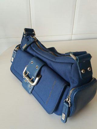 bolso azul Adolfo Domínguez