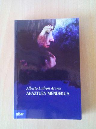 Libro lectura Euskera
