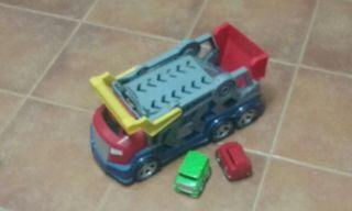 camion de juguete mas coches
