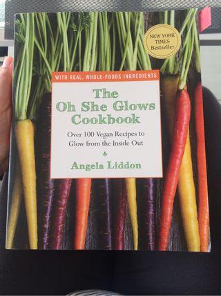 Libro de cocina vegana ingles
