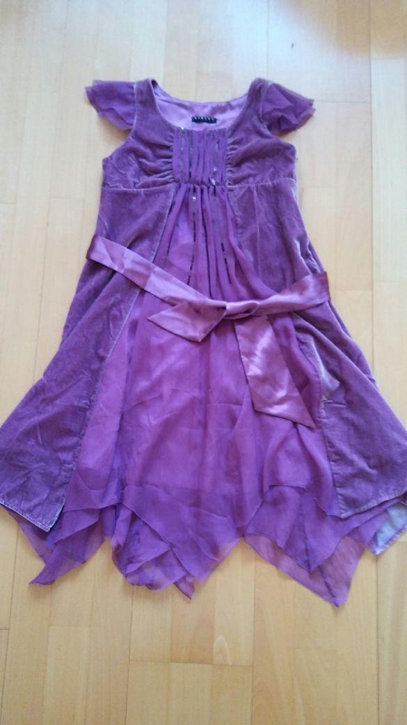 Vestido marca Sisley niña talla 10 11 años de segunda mano por 12 ...