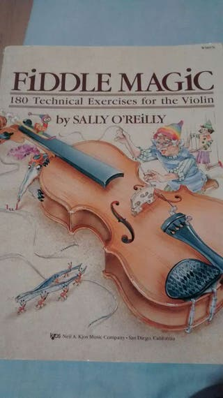 Fiddle Magic 180 Technical exercises for the violin