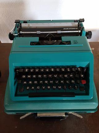 Máquina de escribir olivetti STUDIO 45 Vintage