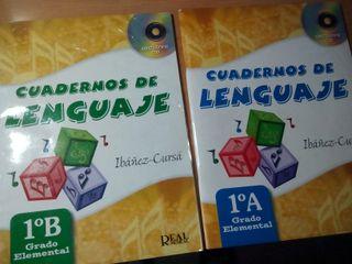 cuadernos de lenguaje , Ibáñez_Cursa , 1A y 1 B