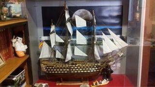 Vendo maqueta barco santísima Trinidad.