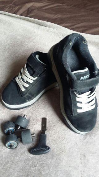 zapatillas ruedas Heelys talla 34